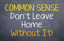 Common Sense Sign WEB